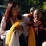 Minling Dungse Rinpoche Arrives at Mindrolling