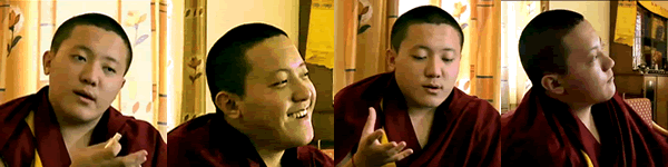 Portraits of His Holiness Dilgo Khyentse Yangsi Rinpoche