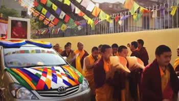 Kudung of Kyabje Taklung Tsetrul Rinpoche