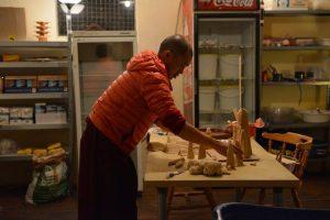Senior Choepon Ven Thinley Gyaltsen la from Mindrolling at the Mahasangha 2016
