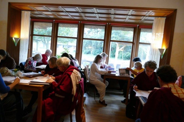 Day 3 - Study sessions  at Mindrolling Mahasangha 2016 | Oberlethe, Germany