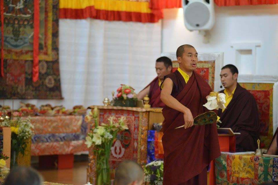 Day 4 - Ven. Tulku Dakpa Rinpoche and Ven. Tulku Jigdral Ngawang Kunga Rinpoche of Mindrolling - Mindrolling Mahasangha 2016 | Oberlethe, Germany