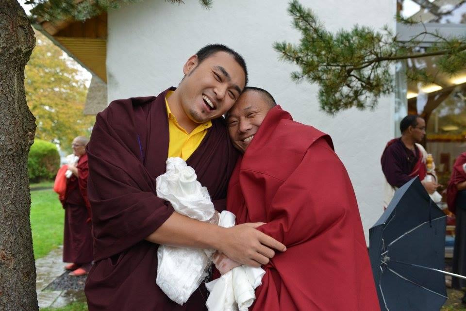 Ven. Tulku Dakpa Rinpoche and Ven Tulku Jigdral Ngawang Kunga Rinpoche a the Mindrolling Mahasangha 2016 | Oberlethe, Germany
