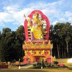 Padmasambhava Statue at Mindrolling.