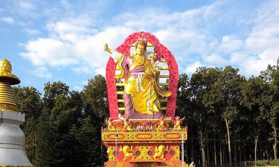 Statue of Guru Padmasambhava