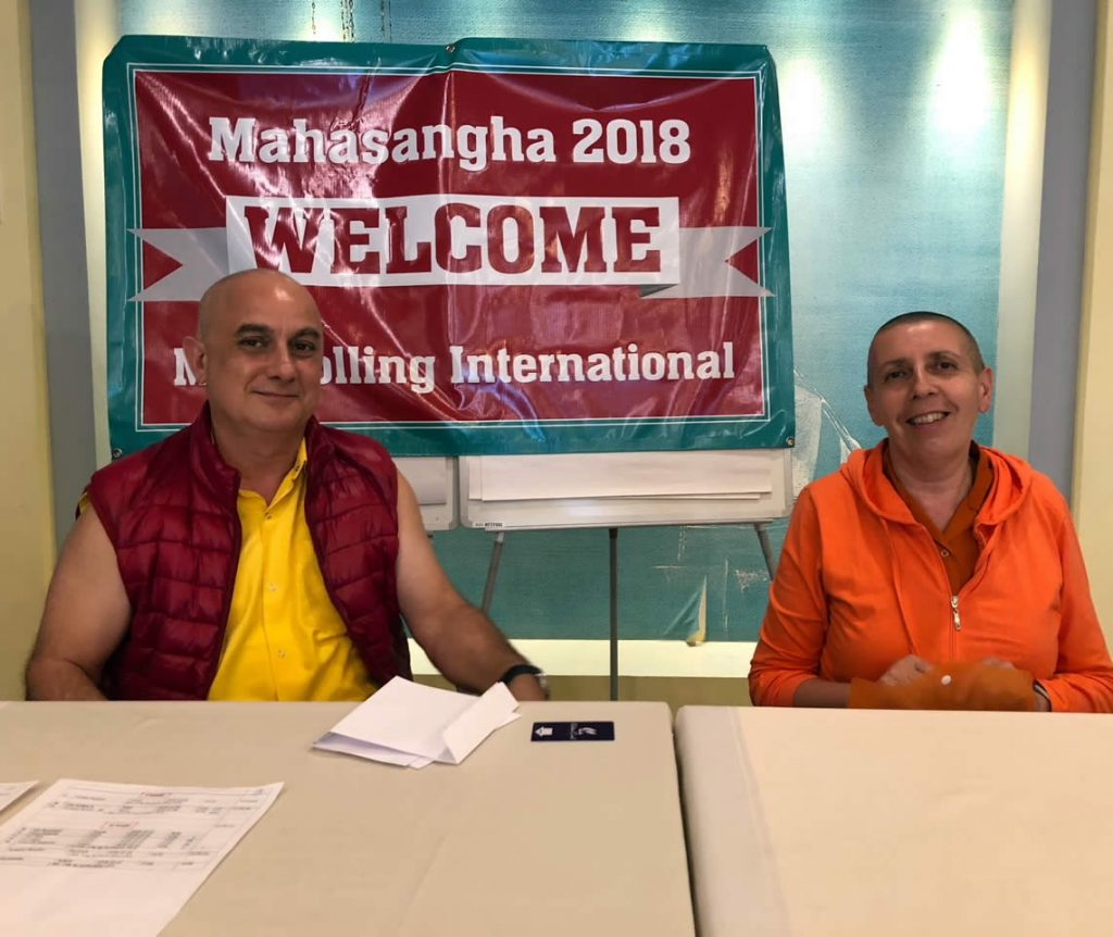 Mahasangha 2018 in Athens, Greece