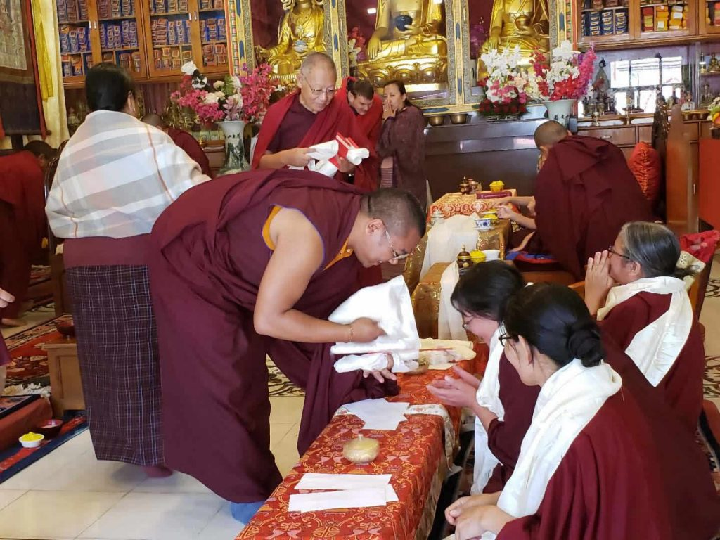 Three Senior Nuns of Samten Tse Complete the Three-Year Retreat