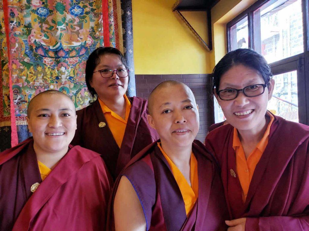Three Senior Nuns of Samten Tse Complete the Three-Year Retreat